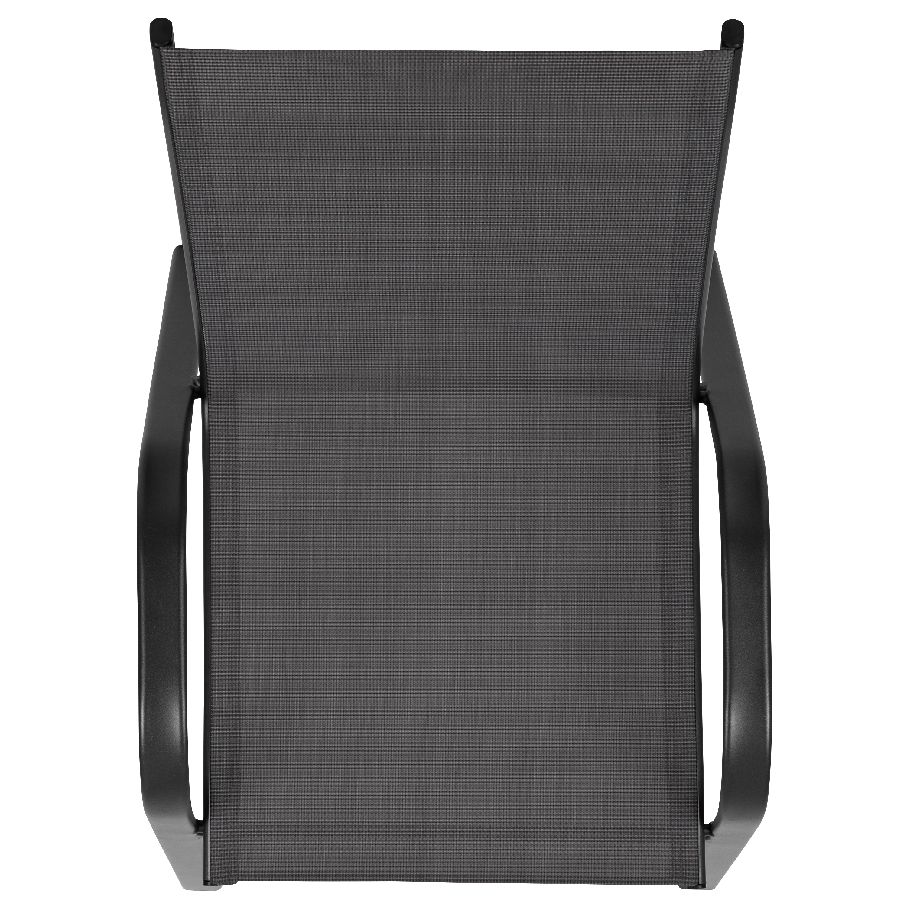 Details about  /4 Pack Outdoor Stack Chair with Flex Comfort Material Patio Stack Chair