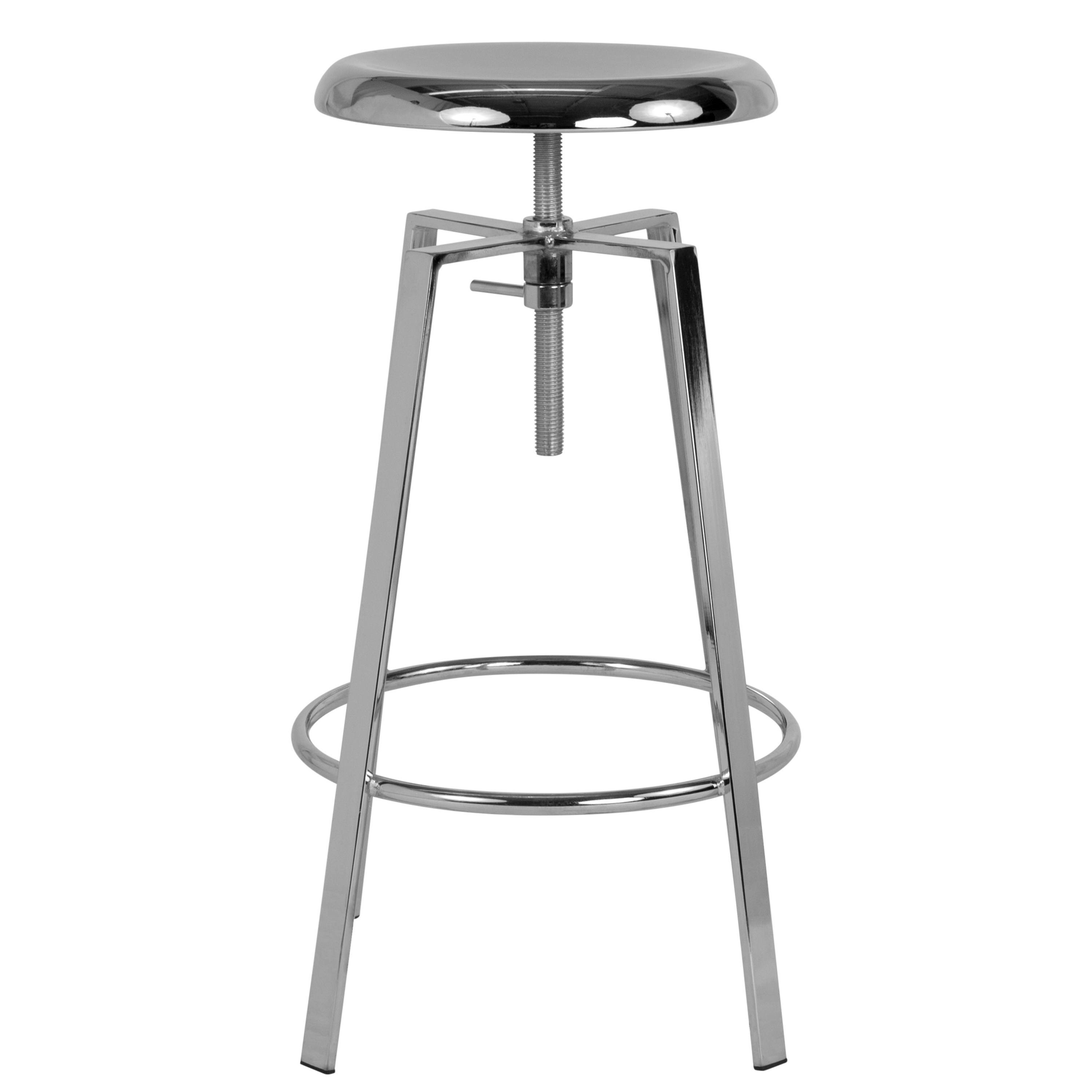 Industrial Style Barstool with Swivel Lift Seat
