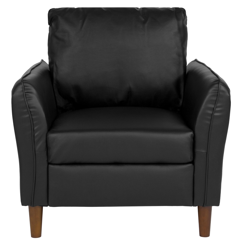 plush pillow back living room arm chair  ebay
