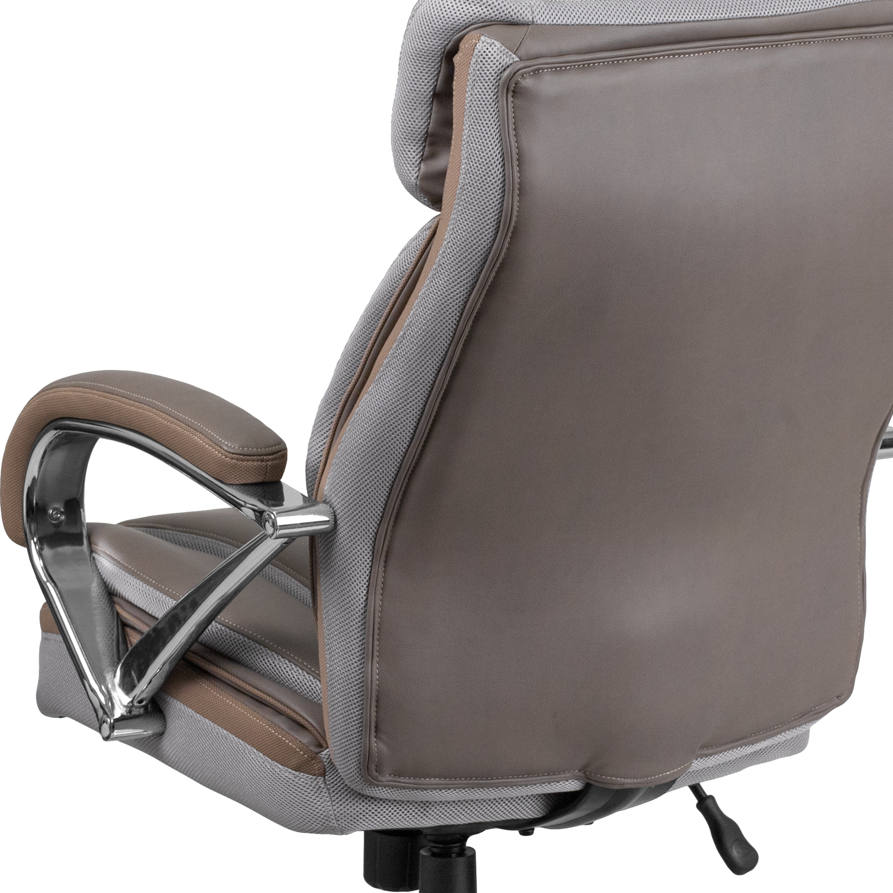 Picture of: 500 Lb Big Tall Leathersoft Executive Ergonomic Office Chair With Wide Seat Ebay