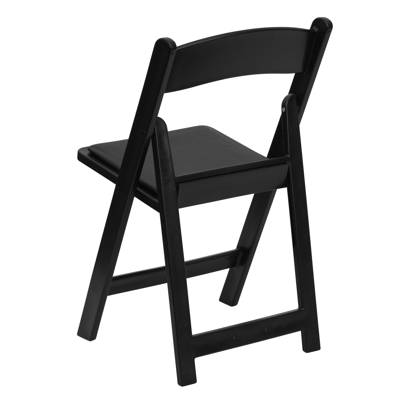 Surprising 4 Pack Wedding Event Resin Folding Chair With Vinyl Seat Machost Co Dining Chair Design Ideas Machostcouk