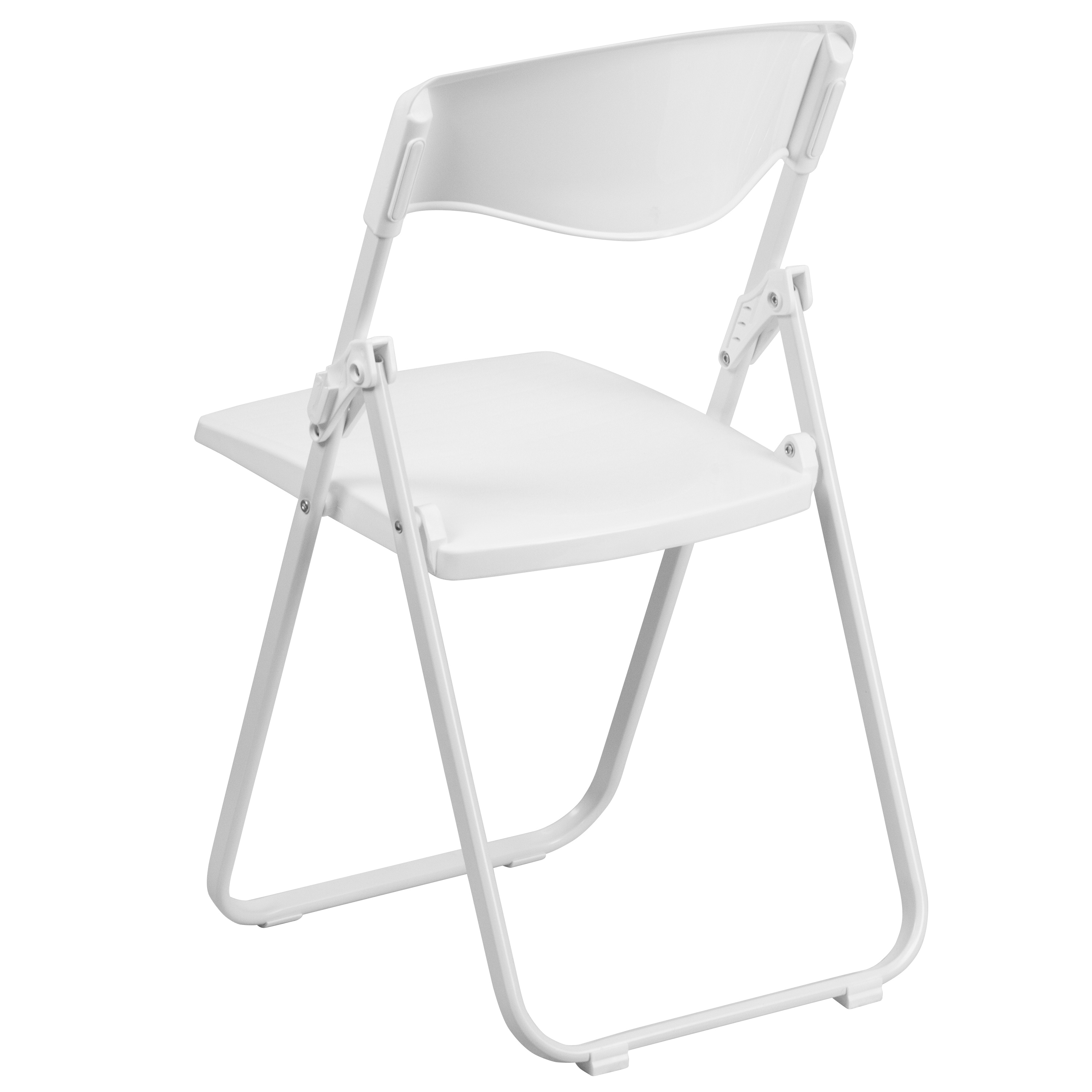 2 Pack Commercial Event Plastic Folding Chair With Ganging