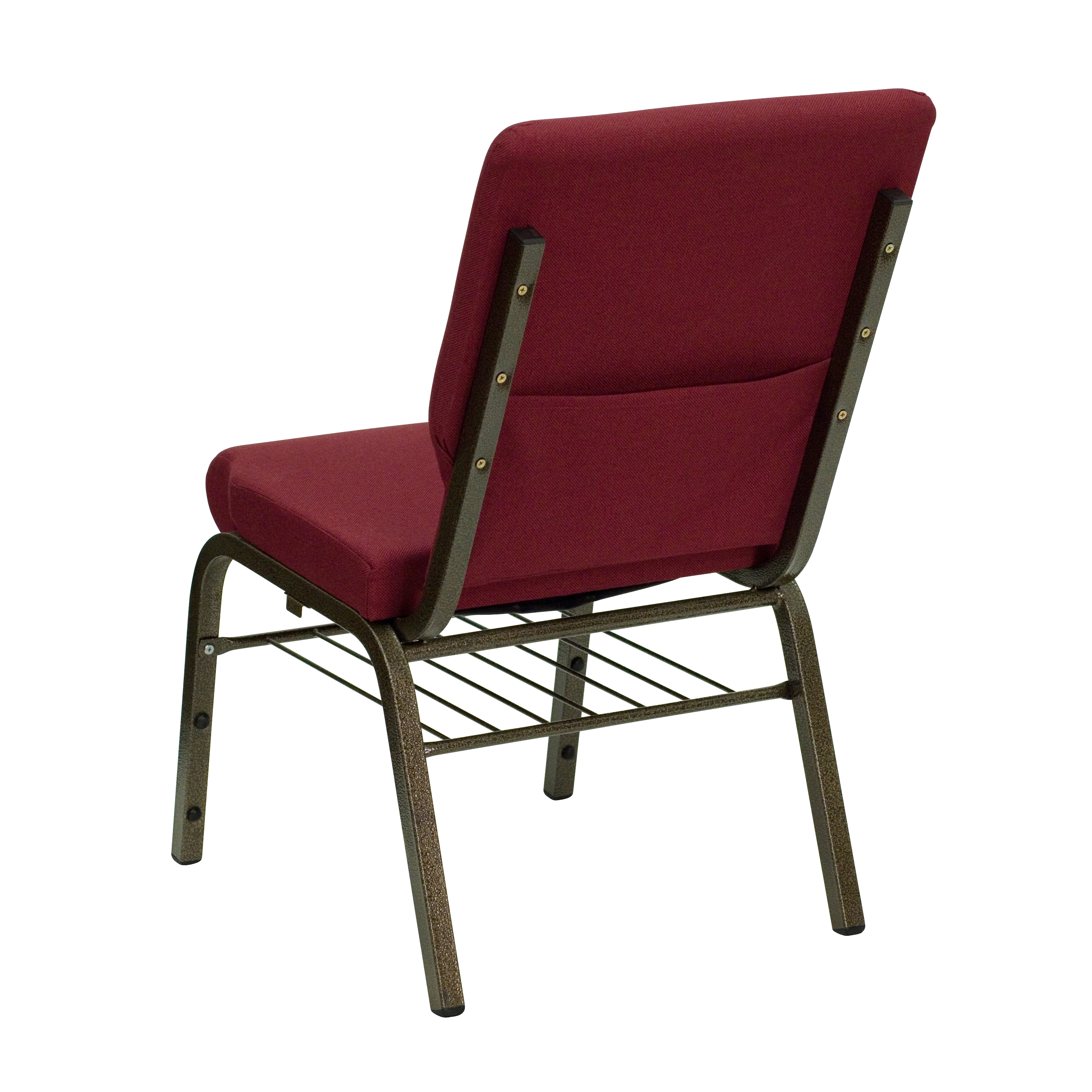 Pleasing Details About 18 5W Church Reception Guest Chair With Book Rack Machost Co Dining Chair Design Ideas Machostcouk